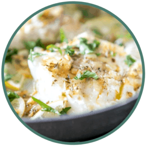 cod oregano parsley